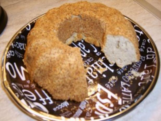 Sandkuchen mit Mandeln   ( Diätkuchen ) - Rezept - Bild Nr. 6