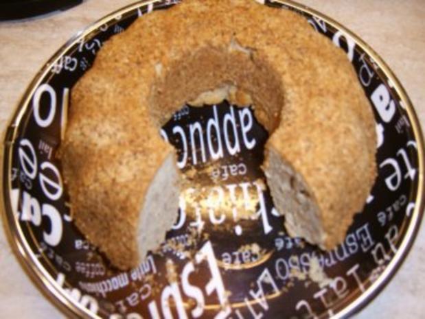 Sandkuchen mit Mandeln   ( Diätkuchen ) - Rezept