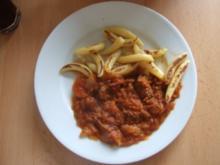 Rindfleisch mit Zwiebeln - Rezept