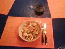 Salat: Tomaten-Eiersalat mit Emmentaler - Rezept