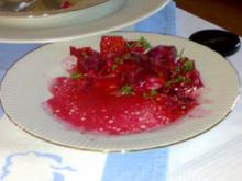 Rote Bete-Salat mit Mozzarella - Rezept