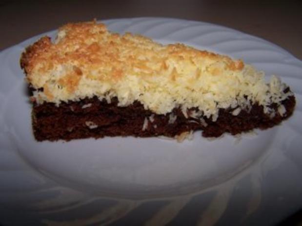Schokoladen Kokos Kuchen Rezept Mit Bild Kochbar De