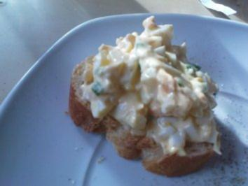 Rezept: Eiersalat mit Schnittlauch