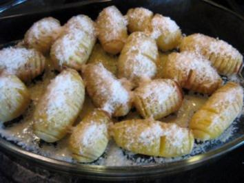 Parmesankartoffeln - Rezept