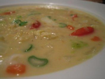 Linsen-Kokos-Chili-Suppe - Rezept