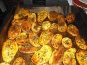 Ofenkartoffeln - Rezept