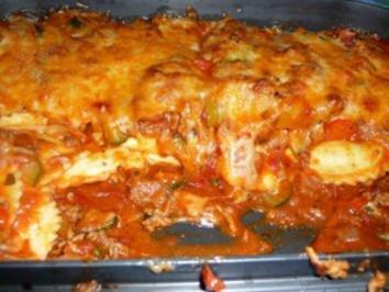 Frischkäse-Tortellini überbacken - Rezept