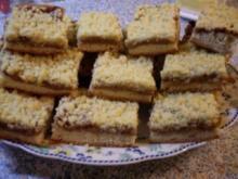 Streuselkuchen mit Pflaumenmuß - Rezept