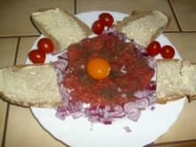 Abenbrot mit Rinderhack - Rezept