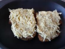 Gebackene Käsebrote - Rezept