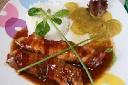 Geflügel: Hähnchen Saltimbocca - Rezept