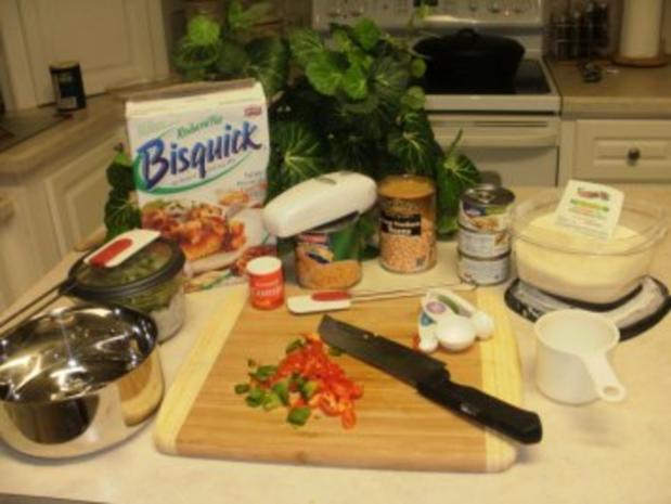 Huehnerfleisch -  Chili mit Maisbrot Knoedel - Sehr einfach und schnell - Rezept - Bild Nr. 2