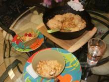 Huehnerfleisch -  Chili mit Maisbrot Knoedel - Sehr einfach und schnell - Rezept