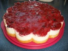 Rote-Grütze-Torte - Rezept