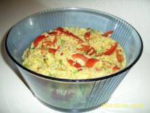 Curry - Reissalat - Rezept