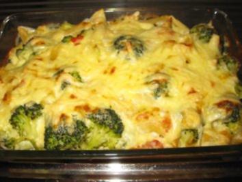 Broccoli-Tomaten-Nudel-Auflauf - Rezept