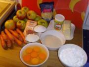 Möhren-Kokoskuchen... - Rezept