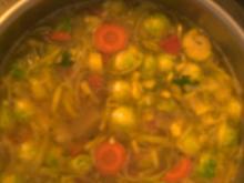 Bohnen-Eintopf  mit  Gemüse -Resten - Rezept