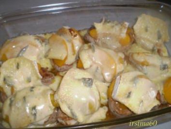 Schweinemedallions überbacken - Rezept