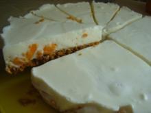 "Kühlschranktorte ""Joghurt-Orange-Cornflakesknäckebrot-Torte"" - Rezept"