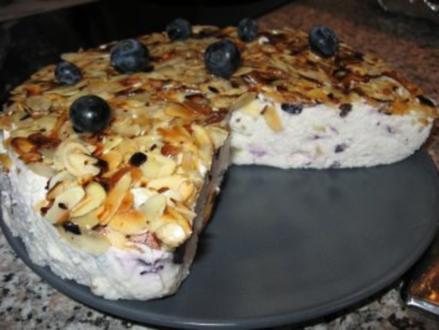 Heidelbeer-Mini-Torte - Rezept