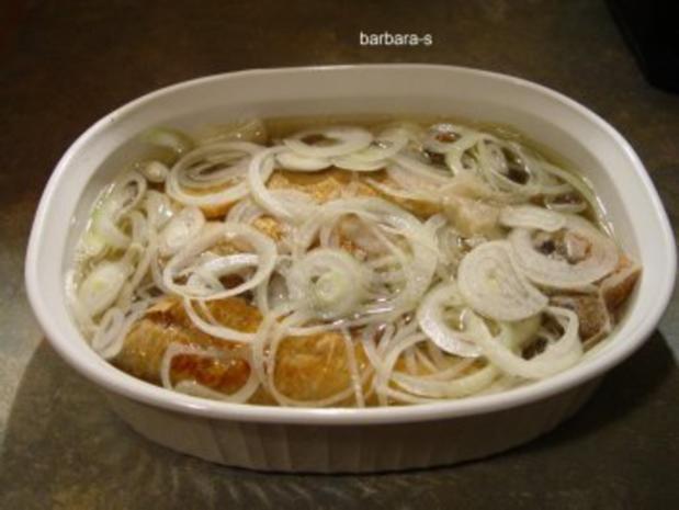 Fisch-Gerichte: Eingelegte Bratheringe - Rezept - Bild Nr. 4
