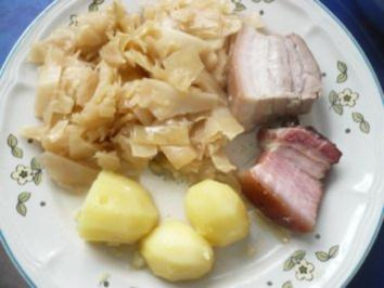 Weißkohl mit Fleisch - Rezept