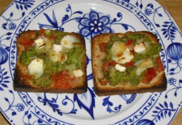 überbackener Gemüsetoast - Rezept - Bild Nr. 2