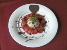 Valentin's Dessert - Rezept