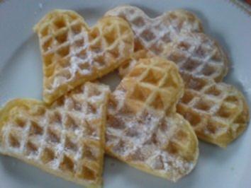 Buttermilchwaffeln - Rezept