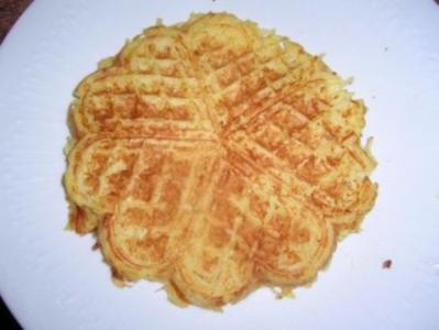 Kartoffelwaffeln - als Beilage zu vielen Leckereien - - Rezept