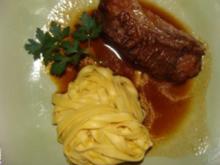 Fleisch - Kalbshaxen im Ofen geschmort - - Rezept