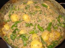 Fleisch - Bohnen-Kartoffel-Hack-Pfanne - Rezept