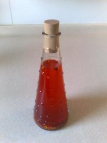 Chiliöl - Rezept
