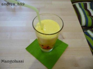 Mangolassi - Rezept