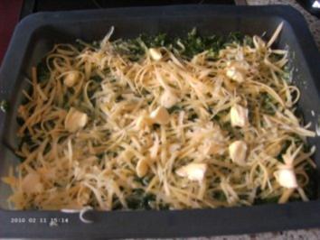 Rahmspinat Lasagne - Rezept