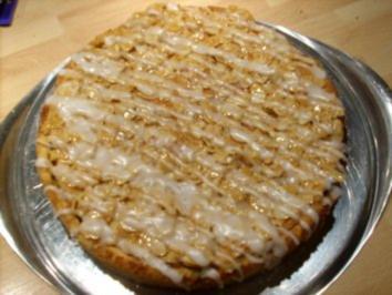 """Gedeckter Apfelkuchen m """"Florentinerhaube"""" - Rezept"""