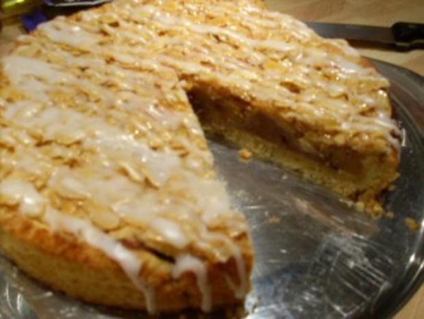 """Gedeckter Apfelkuchen m """"Florentinerhaube"""" - Rezept - Bild Nr. 4"""