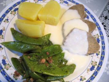 Rezept: Gekochtes Rindfleisch mit Meerrettichsoße