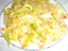 Wirsing-Gemüse meine Art - Rezept