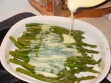 Spargel mit Zitronensosse - Ich mache das immer mit Steak oder BBQ - Fettarm und Salzarm - Gesund - Rezept