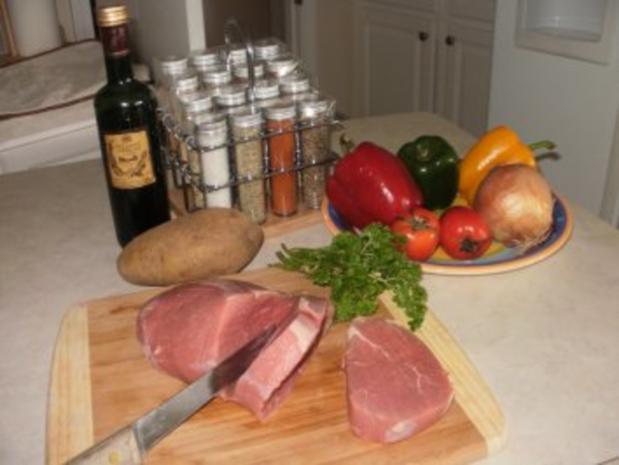 Steak mit Warm Tomaten Salsa  - einfach fettarm und gesund - Rezept - Bild Nr. 2
