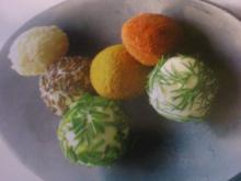 Pikante Käsebällchen - Rezept