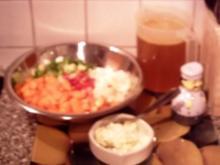 scharfe Karottensuppe - Rezept