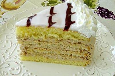 Buttercremtorte nach Esterhazyart - Rezept