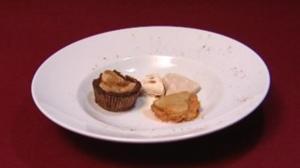 Mini Peach Cobbler, Butter Pecan Ice Cream und Sweet Potato Pie (Florian Simbeck) - Rezept