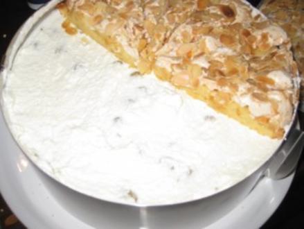 Stachelbeer-Baiser-Torte - Rezept
