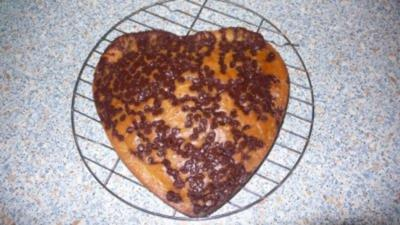 Pizzakatzes Valentin-Kuchen - Rezept