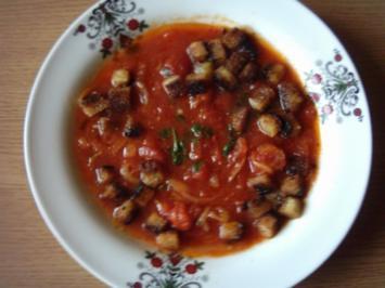 Zwiebel-Tomaten-Suppe aus der Türkei - Rezept