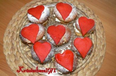 Valentinsmuffins: With Love - Rezept